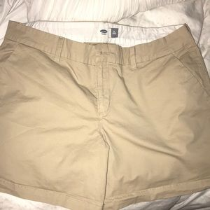 Summer khaki shorts